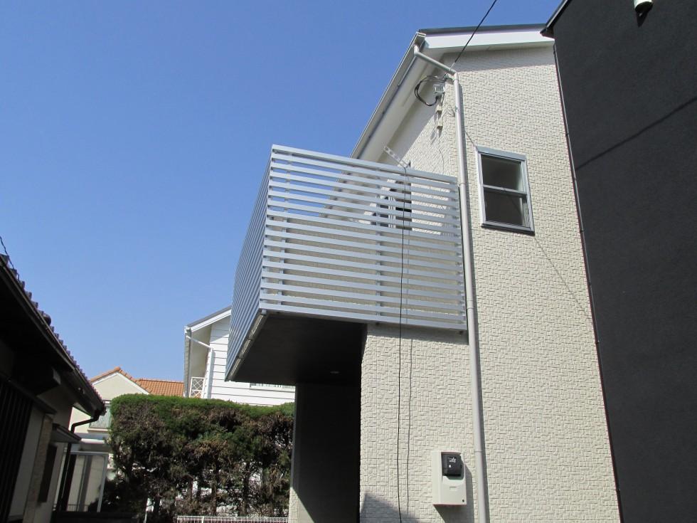 2階リビング勾配天井により、大空間が広がる家